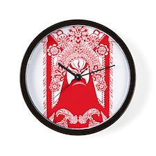 GUAN YU Wall Clock