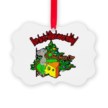 Have An OTC Billiard Mouse Christmas Ornament