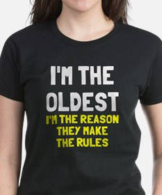 I'm the oldest make rules Tee