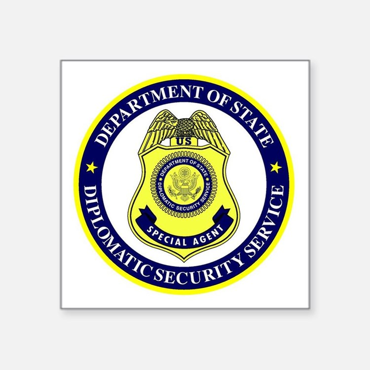 DEPT OF STATE - DIPLOMATIC SECURITY SERVIC Sticker