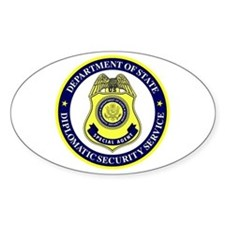 DEPT OF STATE - DIPLOMATIC SECURITY SERVIC Decal
