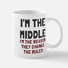 I'm the middle change rules Mug