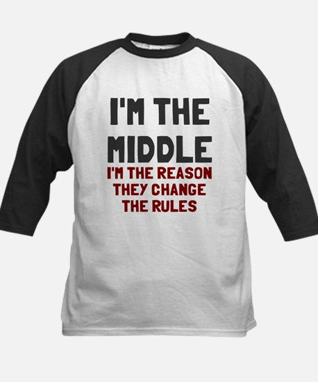 I'm the middle change rules Kids Baseball Jersey