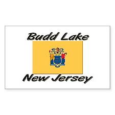Budd Lake New Jersey Rectangle Decal