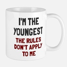 I'm the youngest rules don't apply Mug