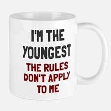 I'm the youngest rules don't apply Small Small Mug