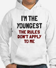 I'm the youngest rules don't app Jumper Hoody