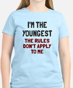 I'm the youngest rules don't T-Shirt