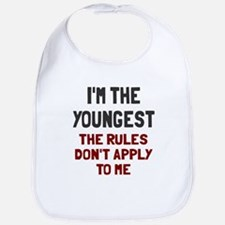 I'm the youngest rules don't apply Bib
