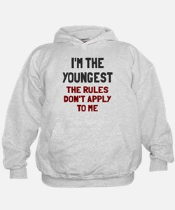 I'm the youngest rules don't apply Hoodie