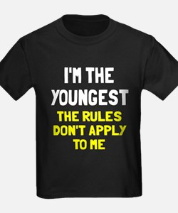 I'm the youngest rules don't app T
