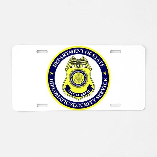 DEPT OF STATE - DIPLOMATIC Aluminum License Plate