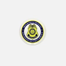 DEPT OF STATE - DIPLOMATIC SECURITY SE Mini Button