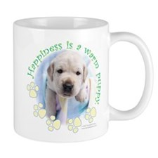Happiness is a warm Puppy Mug