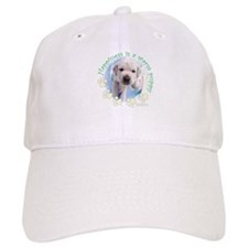 Happiness is a warm Puppy Baseball Cap