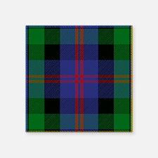 Malcolm Scottish Tartan Sticker
