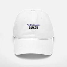 Worlds Greatest DEACON Cap