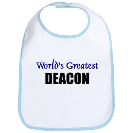 Worlds Greatest DEACON Bib