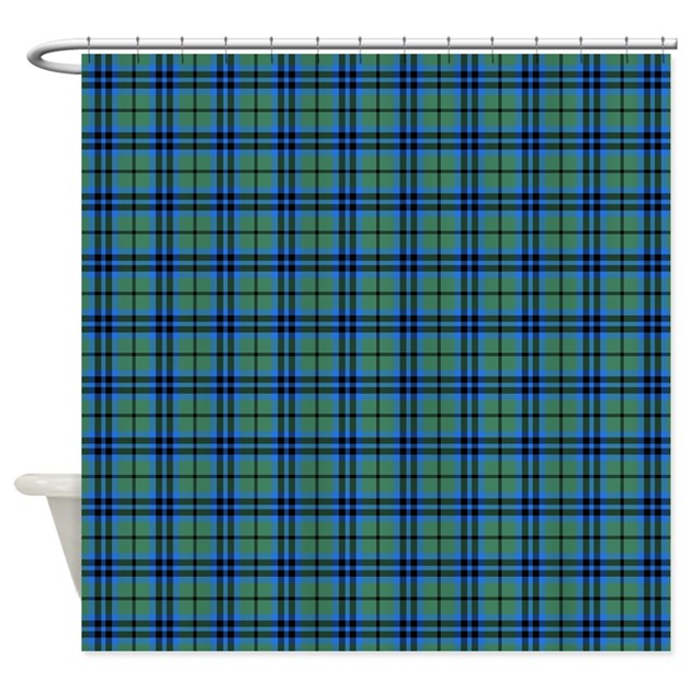 Marshall Scottish Tartan Shower Curtain By Packratgraphics