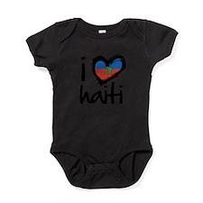 Cute Haiti Baby Bodysuit