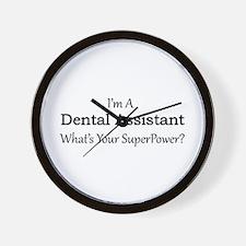 Dental Assistant Wall Clock