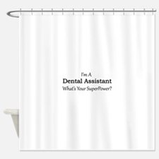 Dental Assistant Shower Curtain