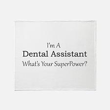 Dental Assistant Throw Blanket