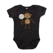 Cute Volleyball Baby Bodysuit