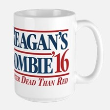 Reagan's Zombie for President Mugs