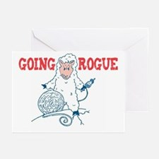 Going Rogue Greeting Cards