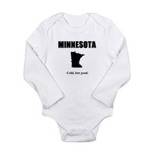 Cool Funny minnesota Long Sleeve Infant Bodysuit