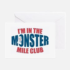 Monster Mile Greeting Cards