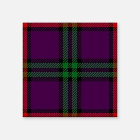 Montgomery Scottish Tartan Sticker