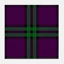 Montgomery Scottish Tartan Tile Coaster