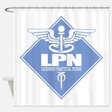 LPN (b)(diamond) Shower Curtain