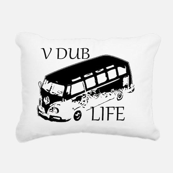 Cute V Rectangular Canvas Pillow