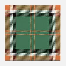 Pollock Scottish Tartan Tile Coaster