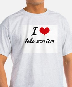 I love lake monsters T-Shirt