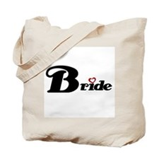 Black Bride Tote Bag