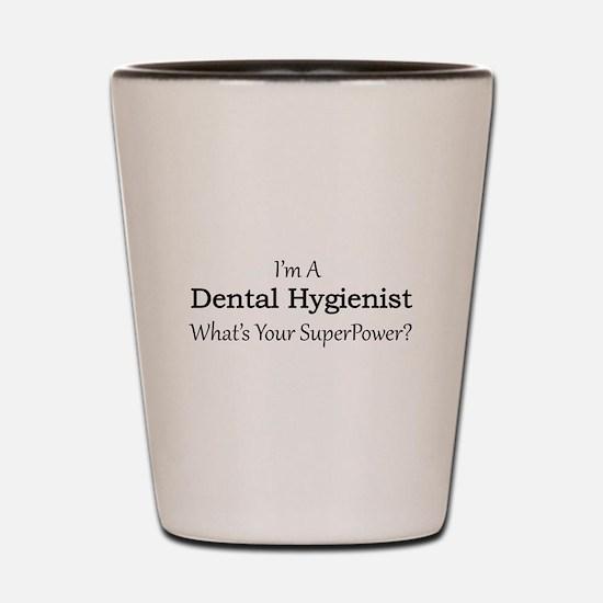 Dental Hygienist Shot Glass
