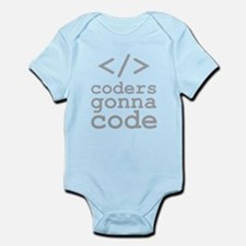 Coders Gonna Code Body Suit