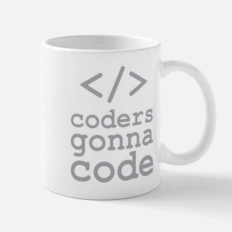 Coders Gonna Code Mugs
