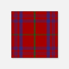 Rose Scottish Tartan Sticker