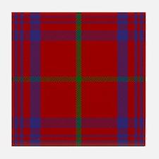 Rose Scottish Tartan Tile Coaster