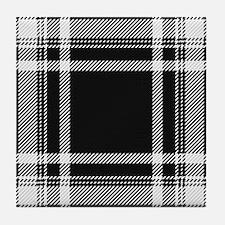 Royal Stewart Tartan Tile Coaster