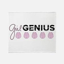 Girl Genius Throw Blanket