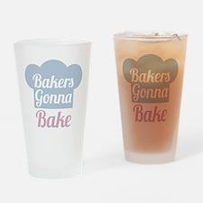 Bakers Gonna Bake Drinking Glass