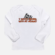Funny Stock car racing Long Sleeve Infant T-Shirt