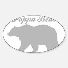 Poppa Bear Decal