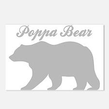 Poppa Bear Postcards (Package of 8)